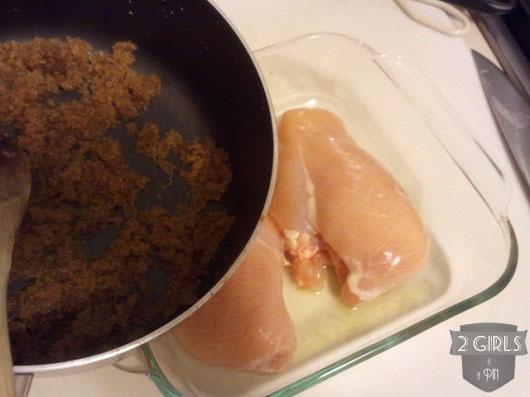Step 6: 2 Girls and a Pin Baked Garlic Brown Sugar Chicken