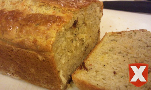 2 Girls and a Pin tested a Cheese, Olive, and Buttermilk Herb Bread