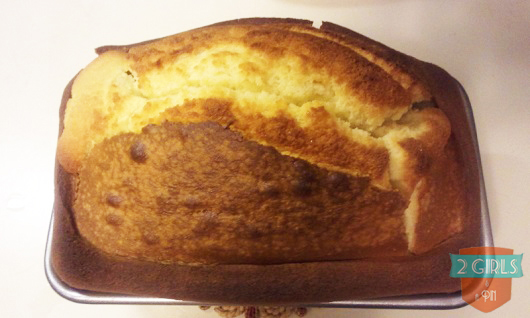 Explosion: 2 Girls and a Pin tested a Buttermilk Pound Cake