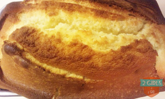Step 11: 2 Girls and a Pin tested a Buttermilk Pound Cake