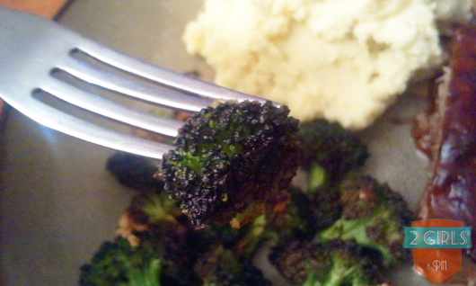 Taste?: 2 Girls and a Pin tested oven baked broccoli.
