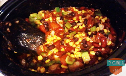 Step 15: 2 Girls and a Pin tested a Crock Pot Taco Chicken Chili