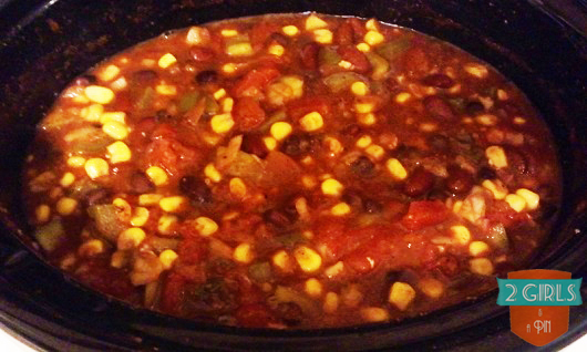 Cooked: 2 Girls and a Pin tested a Crock Pot Taco Chicken Chili