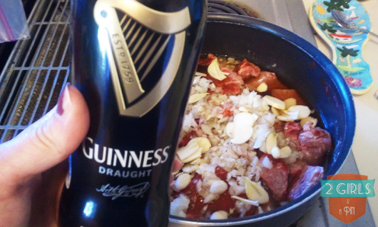 Step 9: 2 Girls and a Pin tested an Irish Beef and Stout Stew